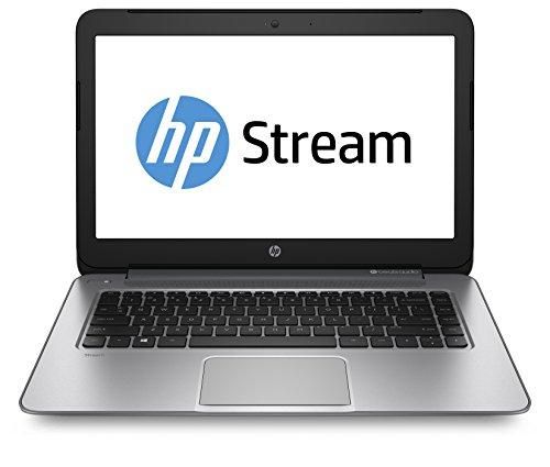 HP 14-z000nl Stream Notebook, Processore Serie A Quad Core AMD, 2 GB di SDRAM, eMMC da 32 GB, Argento