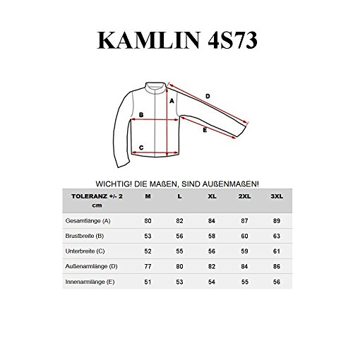 BOLF – Veste á capuche – Fermeture éclair – Bouton – KAMLIN 4S73 – Homme Noir