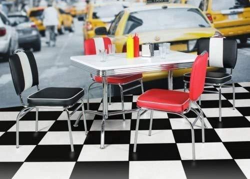 Table de Salle à Manger ELVIS 120 cm American Diner