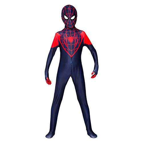 2019 Spiderman Bodysuit Cosplay Meilen KostüM Venom Karneval Themenparty Halloween Rollenspiel Overall (Halloween-kostüme Für Die 2019 3 Familie)