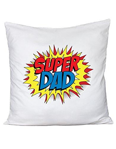 Fashwork cuscino festa del papà - super dad - happy father's day - in cotone by