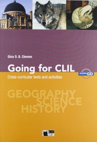GOING FOR CLIL SS I GRADO+CD
