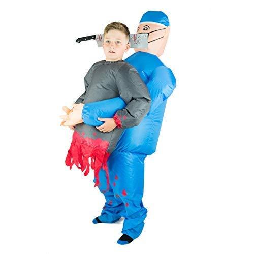 Bodysocks® Aufblasbares Arzt Kostüm für Kinder