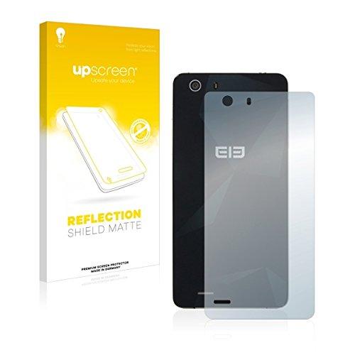 upscreen Reflection Shield Matte Bildschirmschutz Schutzfolie für Elephone S2 Plus (Rückseite) (matt - entspiegelt, hoher Kratzschutz)