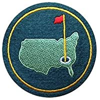 AUGUSTA US NATIONAL MASTERS PGA GOLF GREEN JACKET FELT PATCH 3 inches