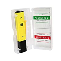 Digital pH Meter Water Hydroponics Pocket Pen Tester Aquarium Pond Pool Test