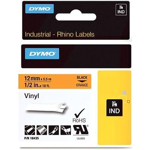 DYMO 12mm RHINO Coloured vinyl - Cintas para impresoras de etiquetas (D1, Vinilo, Bélgica, Caja)