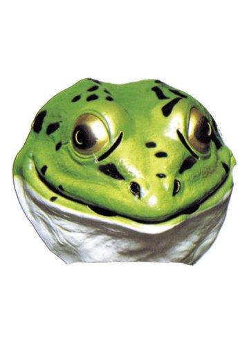 Kostüm Maske Ratte - Cesar-A519-001-Kostüm-Maske-Fabel von la Fontaine-Frosch