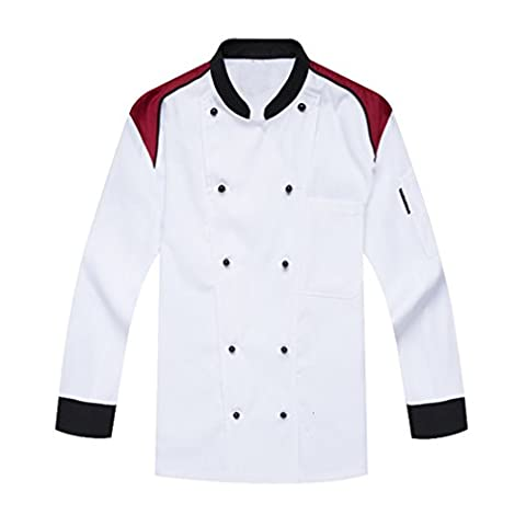 Catering Uniforms Chefs Jacket Long Sleeves White
