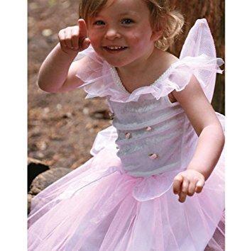 Feenkostüm mit Rosenknospenapplikation (für 3- bis 5-Jährige)