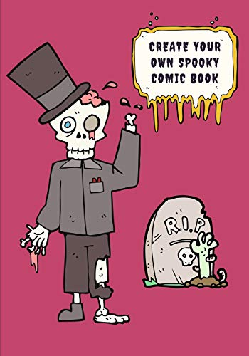 Create Your Own Spooky Comic Book (Awesome Halloween Party Favors)
