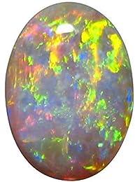 PRAJAPATI GEMS 8.25 Ratti / 7.45 Carat Opal Stone Original Certified Natural Australian Unheated Untreated Certified Loose Gemstone