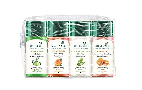 Biotique Travel Kit, 400 g - Fresh Foaming Cleanser
