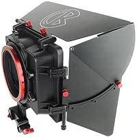 """Kamerar SOCOM Matte Box Pare-soleil 15mm, support de filtre 4x4"""""""