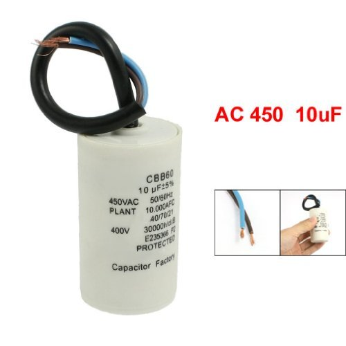 CBB60 10uF Draht Bleizylinder Motor Run SH Kondensator AC 450V - Motor Run Kondensator