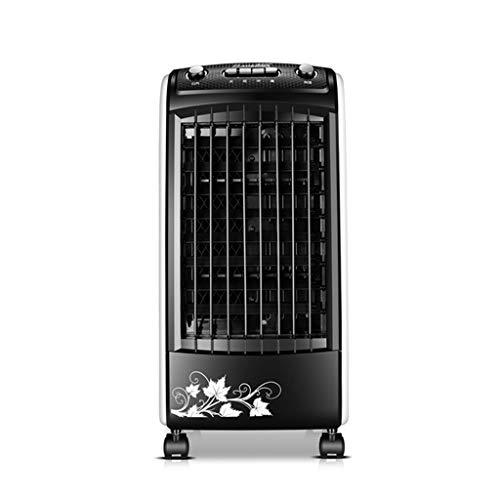 Ventilateur De Climatisation - Humidification Portable Refroidissement Par Eau/Contrôle Mécanique - Petit Climatiseur Accueil/Bureau / Dortoir - Noir