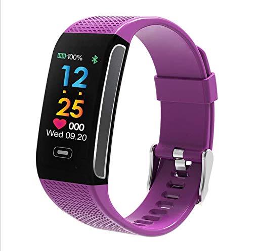 Smart Armband dynamische F wasserdichte Meter Schritt Test Herzfrequenz Farbe Hintergrund Bildschirm Armband lila