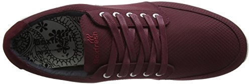Boxfresh - Struct Sh Rip Nyl/Sde Mar, Scarpe da ginnastica Uomo Rosso (Red (Mar))