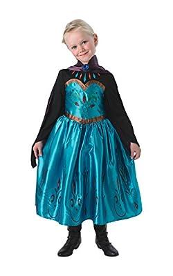 Rubie 's–Disfraz de oficial de Disney Frozen Coronación Elsa Niño Medio M de Rubies