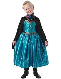 Rubie's   - Elsa Frozen Coronation Dress - Child, Verkleiden und Kostüme