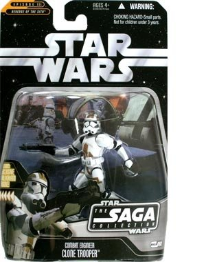 STAR WARS the Saga Collection Combat Engineer Clone Trooper - 87348/85770 (Engineer Combat)