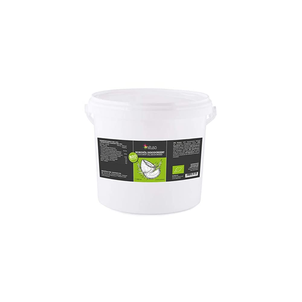 Mituso Bio Kokosl Geschmacksneutral Desodoriert 1er Pack 1 X 5000 Ml