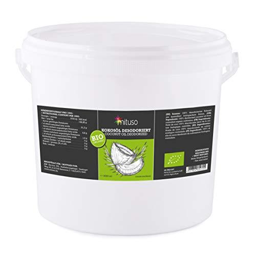 (mituso Bio Kokosöl, Geschmacksneutral (desodoriert), 1er Pack (1 x 5000 ml))