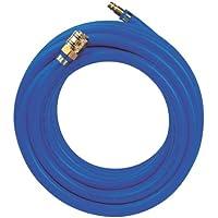 Metabo Druckluftschlauch SUPER AIR 10, widerstandsfähiger Luftschlauch mit Schnellkupplung und Nippel, Länge 10 m, blau, Art.-Nr. 901056056