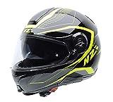 NZI Combi duo Graphics casque de moto (Sport, x-grande)