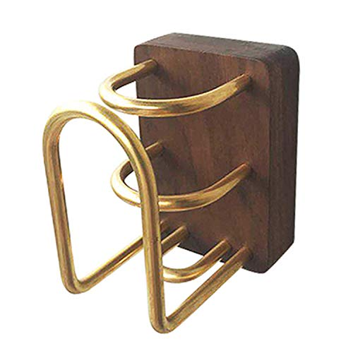 Massivholz elektrische Zahnbürste Cup Holder, Wand hängen Zahn Cup Holder, Mund Cup Rack, Bad Regal, schwimmende Wandregal E - Holder Zahn Cup