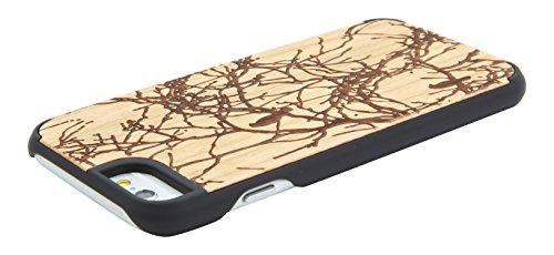 """SunSmart Klassische hölzerne Abdeckung iPhone 6 Natural Wood Schutzhülle für iPhone 6 4.7"""" --23 22"""