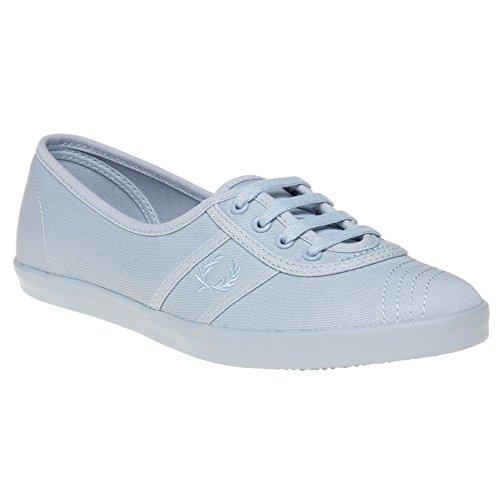 Fred Perry Aubrey Twill Donna Sneaker Blu Blu