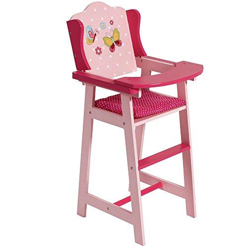 *Bayer Chic 2000 501 90 Puppen-Hochstuhl, pink*