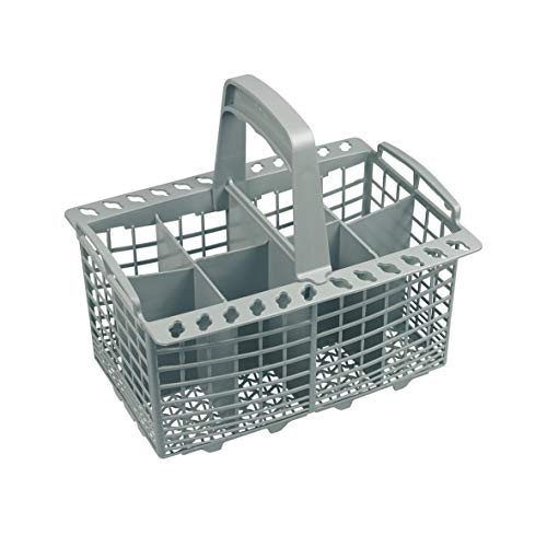 Besteckkorb Korb Kunststoff grau Spülmaschine Spülgerät Geschirrspüler ORIGINAL Indesit C00094297 Whirlpool Bauknecht 482000022776 passend ls10 d30 d33 d38 d18 kls10 kls18 gsa10 gsa20 vwm070 dw14 hd12