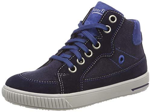 superfit Baby Jungen Moppy Sneaker, (Blau 80), 25 EU