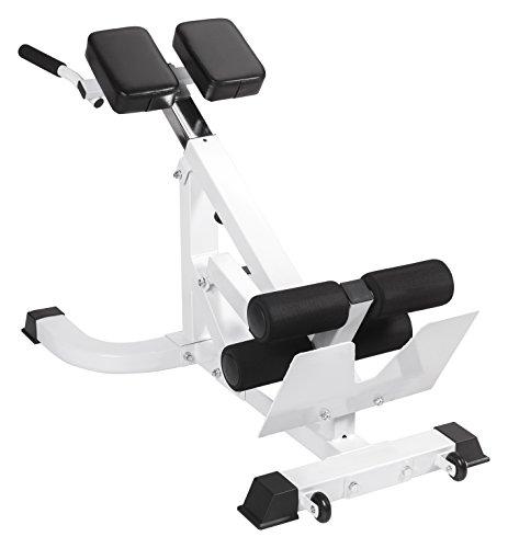 Bad Company Hyperextension 45° Rückenstrecker I Professionelles Fitnessgerät zum Rückentraining Zuhause I BCA-52