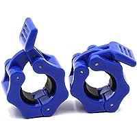 Paar Halsband Clip Gewicht Kurzhantel mit Sternverschluss Lift Spring Lock Gewicht Stopper Bar Lifting Bodybuilding UK Warrior 50/mm Olympic Langhantel Klemme