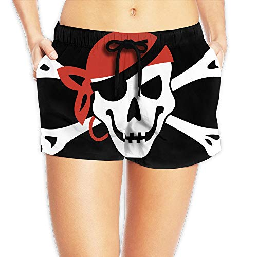 KKONEDS 7.05oz Running Shorts Beauty Fresh Pirate Flag Skull,Personality Beach Shorts Trucks Pants Mens Quick Dry Beach Shorts X-Large (Running Shorts Danskin)