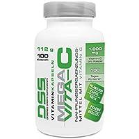 DSS Mega Vita-C Kapseln   1000 mg hochdosiert   100 Tagesportionen   Ideal im Ausdauer- & Kraft-Sport   Nahrungsergänzung... preisvergleich bei billige-tabletten.eu