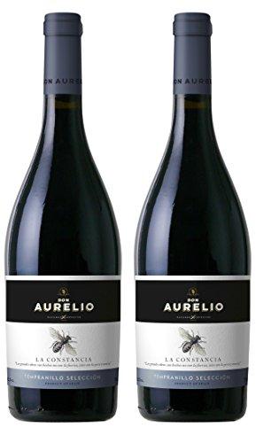 Don Aurelio Tempranillo, spanischer Rotwein, 2er Set Trocken (2 x 0.75 l)