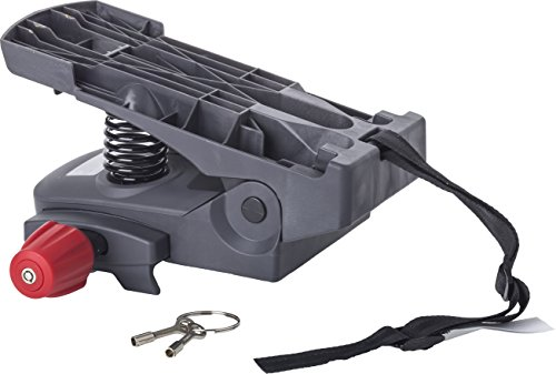 Hamax Kinder Zubehör Caress Carrier Adapter, grau, Standard