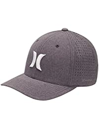 Hurley Hats Phantom 4.0 Baseball Cap - Heather Grey