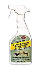 Gel-Gloss, CG-24, Counter Gloss Granite and All Natural Stone Surface Cleaner and Polish - Cleans, Seals and Shines In Easy One Step Process, 24 Fluid Ounces