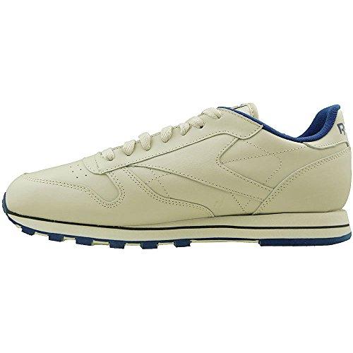 Reebok CL LTHR 28412 - Sneaker classiche uomo Beige