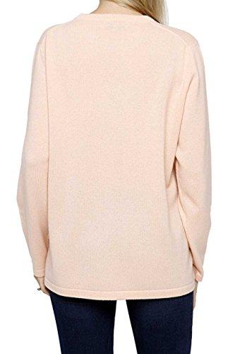 Lai La New York Damen Pullover 100% Kaschmir ELKE Pure Cashmere Aprikot