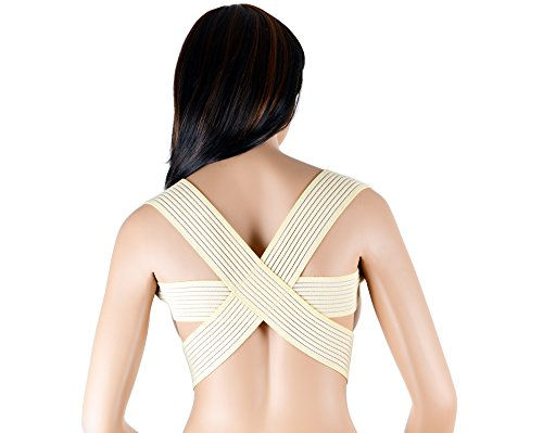ASSISTICA® Medizinischer Geradehalter Rücken Bandage Rückenstütze Schulterhalter (Large)