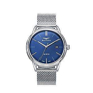 Reloj SANDOZ Swiss Made Hombre 81473-37 Esterilla