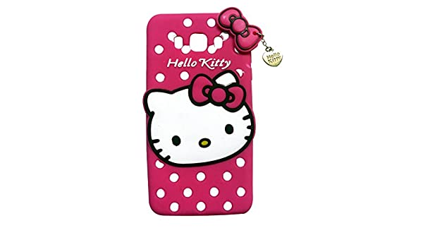 1276dd4fa A1 Shop 3D Cute Hello Kitty Back Cover For Samsung J7: Amazon.in:  Electronics