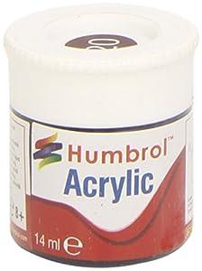 Humbrol - Pintura acrílico, Color Crimson (Hornby AB0020)
