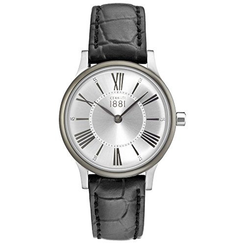 Cerruti Siena CRM099W212A Women's Watch Black/Silver